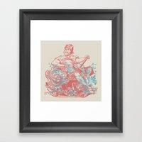 Hipster Zero Framed Art Print
