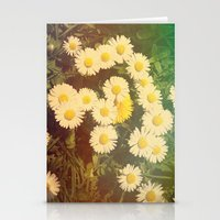 Walking in the Daisies Stationery Cards