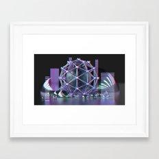 Dreaming in Neon  Framed Art Print