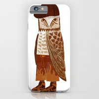 iPhone & iPod Case featuring Hip Hop Owl by Santiago Uceda