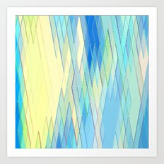 Re-Created Vertices No. … Art Print
