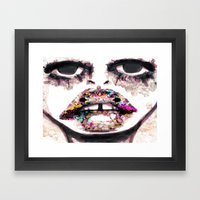 Born To Be Exteriorly Ug… Framed Art Print