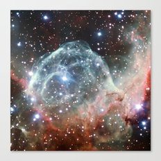 Thor's Helmet Nebula Canvas Print