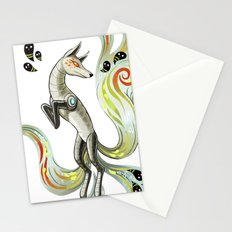Mechanical Fox Stationery Cards