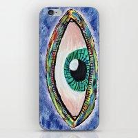 Technicolor Eye iPhone & iPod Skin