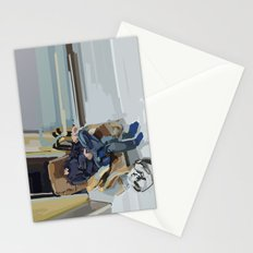 some kind of time dimension Stationery Cards