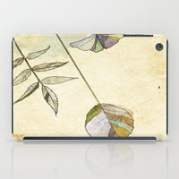 Leaf Study iPad Case