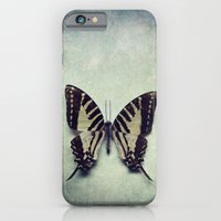 Vintage Butterfly 5 iPhone 6 Slim Case