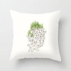 Geo'd Throw Pillow