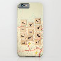 iPhone Cases featuring let's run away by shannonblue