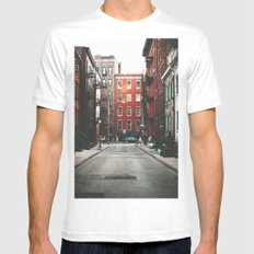 Gay Street NYC White Mens Fitted Tee SMALL
