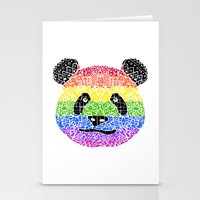 Panda Pride Stationery Cards