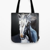 Horse Ghost Tote Bag