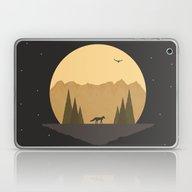The Fox Under The Stars Laptop & iPad Skin