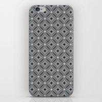 Diamonds in Smoke iPhone & iPod Skin