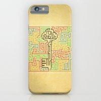 iPhone & iPod Case featuring maze by gazonula