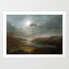 Lost - fanart Morrowind Art Print