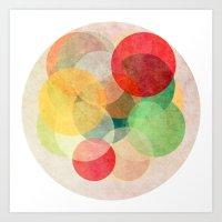 The Round Ones Art Print
