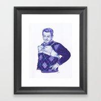 The Manzier Framed Art Print