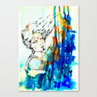 Tribal Beauty 4 Canvas Print