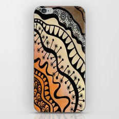 From copper to bronze tangled iPhone & iPod Skin
