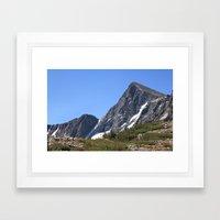Mount Dana Framed Art Print