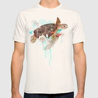 Tortuga Mens Fitted Tee Natural SMALL