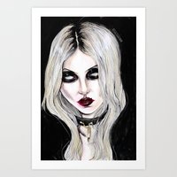 Taylor Momsen #rockrules Art Print