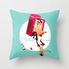 Blorgons! Throw Pillow