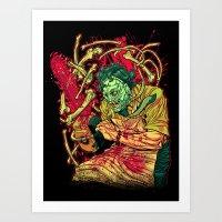 MASSACRE! Art Print