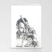 walking dead Stationery Cards featuring Walking Dead by Heather Andrewski