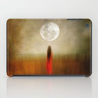 Woman In Red. By Vivian… iPad Case