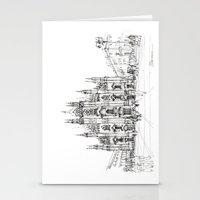 Duomo Di Milano - Schizz… Stationery Cards