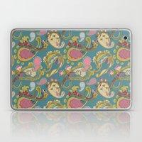 Paisley Teal Laptop & iPad Skin