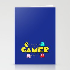 Classic Gamer: Pacman Stationery Cards