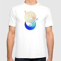 Skink Mens Fitted Tee White SMALL