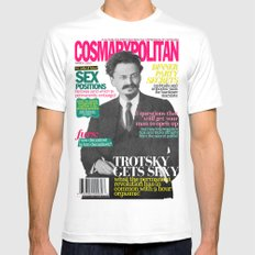 COSMARXPOLITAN, Issue 8 Mens Fitted Tee SMALL White