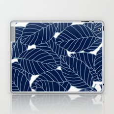 Sweet leafs:  Navy Laptop & iPad Skin