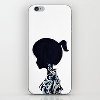 living lady iPhone & iPod Skin