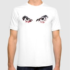 Eyes of the 12th Doctor Mens Fitted Tee White SMALL