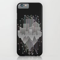 iPhone & iPod Case featuring Mountains And Stars Under The City by Logan Schraeder