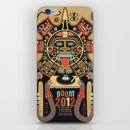 Mayas Spirit - Boom 2012 iPhone & iPod Skin