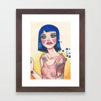 EVERBLUE Framed Art Print