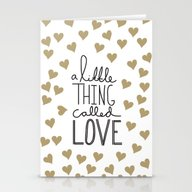 A Little Thing Called Lo… Stationery Cards