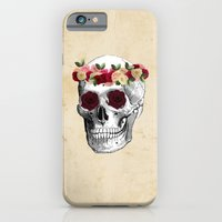 Skull and Flowers  iPhone 6 Slim Case