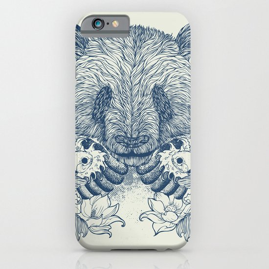 Panda Tattoo iPhone & iPod Case