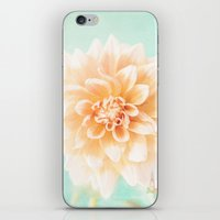 Flower Peachy Bloom iPhone & iPod Skin