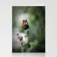 Schmetterling Stationery Cards