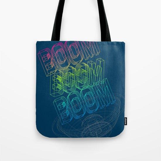 Boom Boom Boom Tote Bag