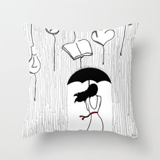 RAINY THOUGHTS Throw Pillow
